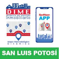 DIME App Mapa San Luis Potosí
