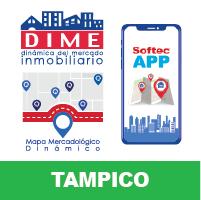 DIME App Mapa Tampico