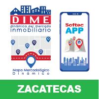 DIME App Mapa Zacatecas