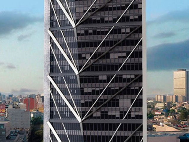 "<font color=""#1d4467""><strong>Torre Reforma</strong></font>"